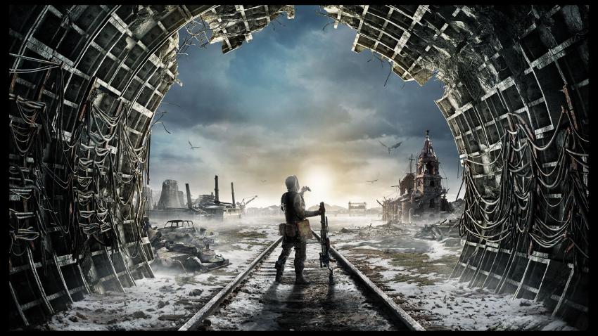Альтернативный логотип Metro Exodus