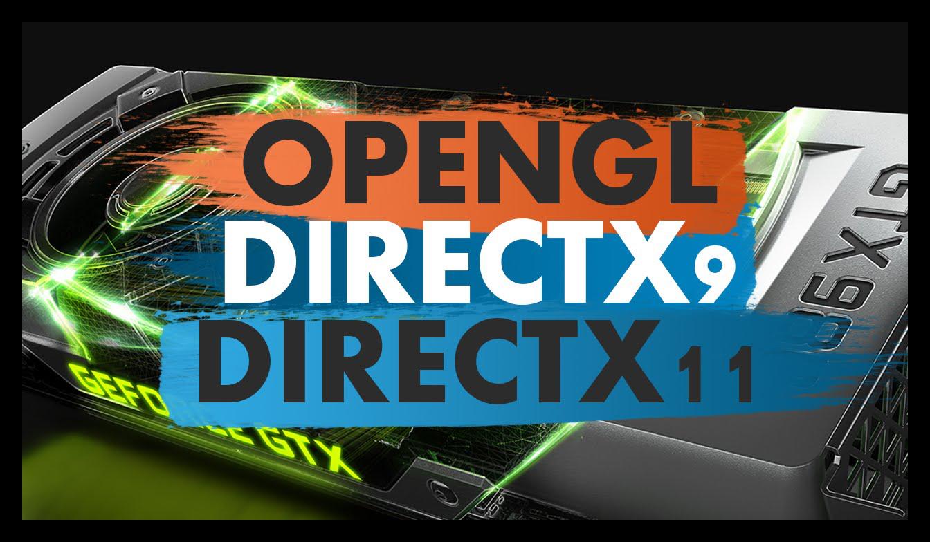 Изображение DirectX 9, 11 и OpenGL