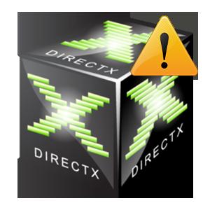 Неустранимая ошибка DirectX