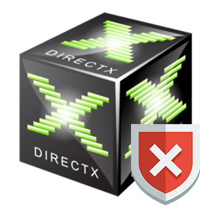 Ошибка Failed to initialize DirectX