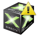 Ошибка DirectX device creation error