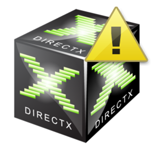 Ошибка DirectX device creation error