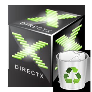 Иконка Как удалить DirectX